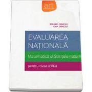 Eduard Dancila, Evaluare nationala. Matematica si Stiintele naturii pentru clasa a VI-a