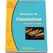 Dictionar de omonime (Andreea Bancescu)