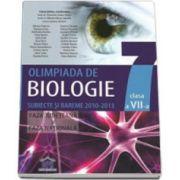 Olimpiada de biologie clasa a VII-a. Subiecte si bareme 2010-2013 - Faza judeteana si faza nationala