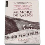 George Toparceanu, Memorii de razboi