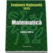 Petre Nachila, Evaluare Nationala 2015 Matematica clasa a VIII-a