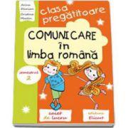 Arina Damian, Comunicare in limba romana. Caiet de lucru pentru clasa pregatitoare semestrul al II-lea