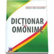 Marius Emil Dulgheru, Dictionar de Omonime