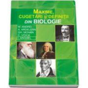 MAXIME, CUGETARI SI DEFINITII DIN BIOLOGIE