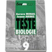 Teste de biologie pentru clasa a IX-a