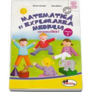 Matematica si explorarea mediului, caiet pentru clasa I - Semestrul 2 (Anina Badescu)