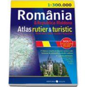 Atlas rutier si turistic - Romania si Republica Moldova