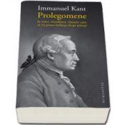 Immanuel Kant, Prolegomene la orice metafizica viitoare care se va putea infatisa drept stiinta