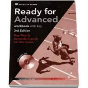 Ready For Advanced. Workbook with key, 3rd Edition (Updated in line with CAE 2015 revisions with audio CD)