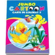 Jumbo Cartoon - Carte de colorat 5