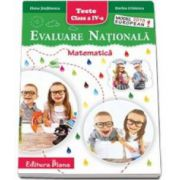 Elena Stefanescu, Evaluare Nationala - Matematica pentru, clasa a IV-a