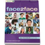 Face2Face Upper Intermediate Students Book with CD-ROM / Audio CD. Manual pentru clasa a XII-a (L2)
