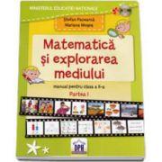 Stefan Pacearca, Matematica si explorarea mediului. Manual pentru clasa a II-a. Semestrul I - Contine CD cu editia digitala