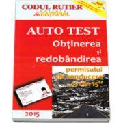 """Auto Test - Obtinerea si redobandirea permisului de conducere,, 13 din 15"""""""