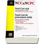 Noul Cod civil si Noul Cod de procedura civila Editia a III-a actualizata la 27 octombrie 2014