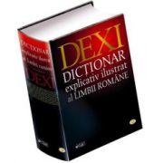 DEXI. Dictionar Explicativ Ilustrat al Limbii Romane - Editie cu coperti cartonate