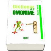 Dictionar de omonime (Marin Buca)