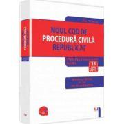 Noul Cod de procedura civila republicat. Legislatie consolidata si INDEX: 15 aprilie 2015