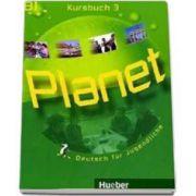 Planet 3 Kursbuch (B1). Manual de germana pentru clasa a 7-a - Deutsch fur Jugendliche
