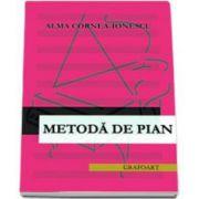 Alma Cornea Ionescu, Metoda de pian
