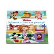 Disney Junior, Marea carte cu povesti (Contine o jucarie cadou). Editie cartonata