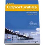 New Opportunities Pre-Intermediate Students Book (With mini - dictionary)