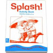 Caiet de limba engleza Splash!, pentru clasa a II-a