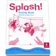 Caiet de limba engleza Splash!, pentru clasa a III-a