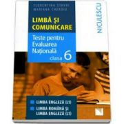Teste pentru Evaluarea Nationala clasa a VI-a Limba si Comunicare. Limba Engleza (L1) Limba Romana si Limba Engleza (L1) (Mariana Cheroiu)
