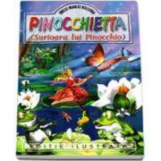 Emilio Manlio Bologna - Pinocchietta. Surioara lui Pinoccio - Editie ilustrata
