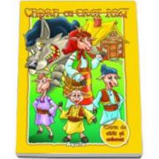 Capra cu trei iezi - Carte de citit si colorat
