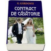 G. Gardonyi, Contract de casatorie