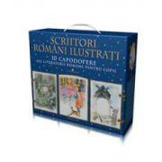 Set 10 volume - Scriitori romani ilustrati - Editie cartonata