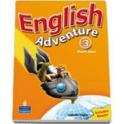 Hearn Izabella, English Adventure Level 3 Pupils Book plus Reader