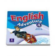 English Adventure level 4. Songs and Chants CD (Hearn Izabella)