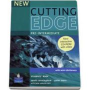 Sarah Cunningham, New Cutting Edge Pre-Intermediate Students Book with mini-dictionary and CD-Rom pack