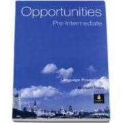 Opportunities Pre-Intermediate Global Language Powerbook (Michael Harris)
