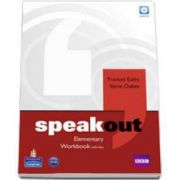 Speakout Elementary Level Workbook with Key and CD pack (Frances Eales)