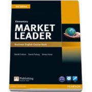 Market Leader Elementary Business English Coursebook 3rd Edition with DVD-Rom pack
