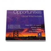 Michael Harris, Opportunities Upper-Intermediate Class CD 1-4 Global