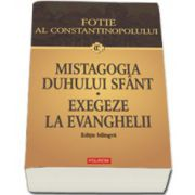 Mistagogia Duhului Sfint. Exegeze la Evanghelii