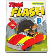Time Flash level B. Workbook with CD-Rom and Stickers (H. Q. Mitchell)