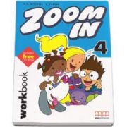 Zoom In level 4 Workbook with CD-Rom - H. Q. Mitchell