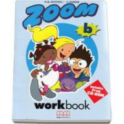 Zoom level B Workbook with Stickers and CD-Rom - H. Q. Mitchell
