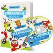 Set Carmen Ivanov - Audiobook si Manual de dictie pentru copii intre 3 si 12 ani - Strafurnica si prietenii sai