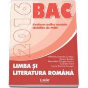 Cirstea Mihaela Daniela - Bacalaureat 2016, Limba si literatura romana. Conform noilor modele stabilite de MEN