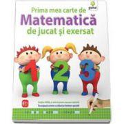 Prima mea carte de matematica de jucat si exersat - Contine tablita si carioca