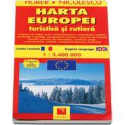 Huber. Harta Europa - Turistica si rutiera, editie actualizata (La scara de 1: 3. 400. 000)