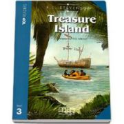 Treasure Island - Adapted by H. Q. Mitchell, level 3 readers pack with CD (R. L Stevenson)