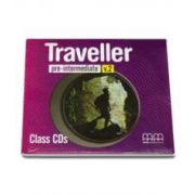 H. Q. Mitchell, Traveller Pre-Intermediate level Class CDs, pentru clasa a VI-a